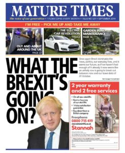 Mature Time front page
