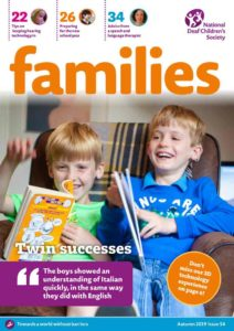 Families magazine cover